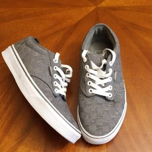 Vans gray square two toned shoes Rk:8:1019 kmo
